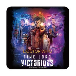 [Doctor Who: Time Lord Victorious Coaster: Iconic (Product Image)]