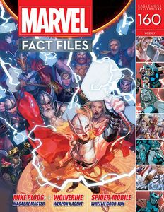 [Marvel Fact Files #160 (Product Image)]