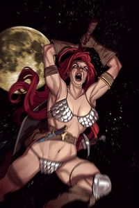[Red Sonja #22 (Stott Virgin Variant) (Product Image)]