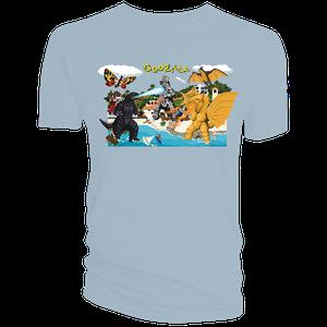 [Godzilla: T-Shirt: Clash Of Titans (Product Image)]