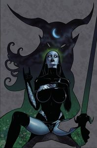 [Tarot Witch Of The Black Rose #102 (Product Image)]