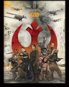[Rogue One: A Star Wars Story: Framed Print: Rebels (Product Image)]