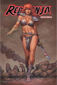 [Red Sonja #20 (Cover B Linsner) (Product Image)]
