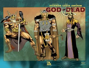 [God Is Dead #5 (Pantheon Wrap Variant) (Product Image)]