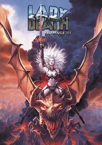 [Lady Death: Homages Signed Limited Edition Artbook (Hardcover) (Product Image)]