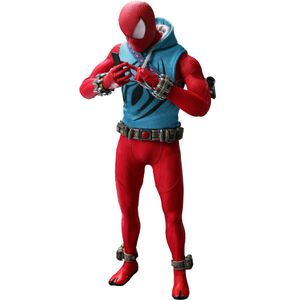 [Spider-Man: Hot Toys Action Figure: Scarlet Spider Suit (Product Image)]