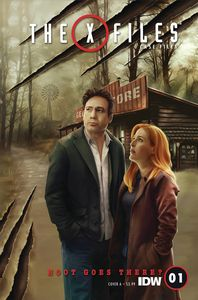[X-Files: Case Files: Hoot Goes There #1 (Cover A Nodet) (Product Image)]