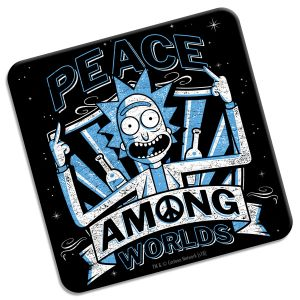 [Rick & Morty: Coaster: Peace Among Worlds (Product Image)]