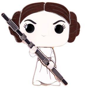 [Star Wars: Loungefly Large Enamel Pop! Pin: Princess Leia (Product Image)]