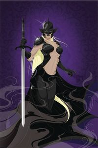 [Black Knight #5 (Cover D Mahle) (Product Image)]