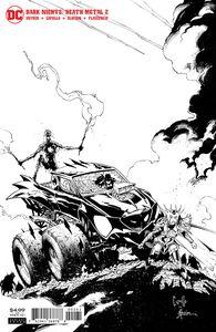 [Dark Nights: Death Metal #2 (Capullo Black & White Variant) (Product Image)]