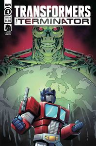 [Transformers Vs Terminator #4 (Cover B Manafort) (Product Image)]