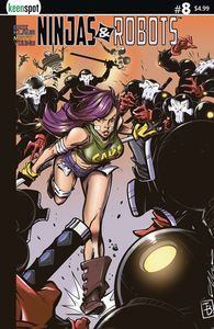 [Ninjas & Robots #8 (Cover C Elliot Fernandez) (Product Image)]
