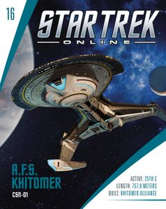 [Star Trek Online: Starships #16: A.F.S. Khitomer Battlecruiser (Product Image)]