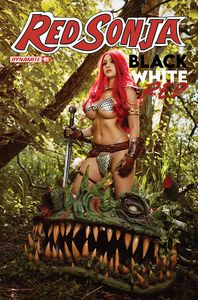 [Red Sonja: Black White Red #2 (Cover D Cosplay) (Product Image)]