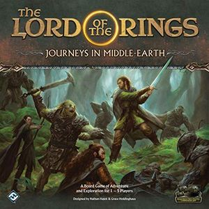 [Lord Of The Rings: Journeys In Middle-Earth Board Game (Product Image)]