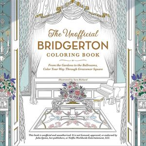 [The Unofficial Bridgerton Coloring Book (Product Image)]