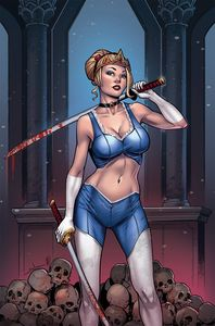 [Grimm Fairy Tales Tarot #3 (Cover C Meloni) (Product Image)]