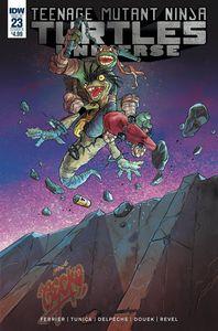[Teenage Mutant Ninja Turtles: Universe #23 (Cover B Tunica) (Product Image)]