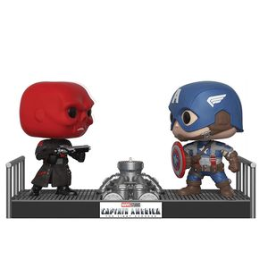 [Marvel: Captain America Pop! Vinyl Figure Movie Moments: Captain America & Red Skull (Product Image)]