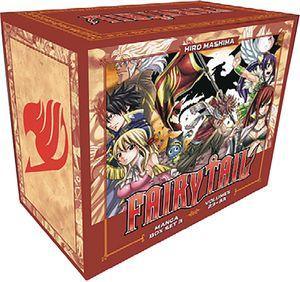 [Fairy Tail: Volume 4 (Box Set) (Product Image)]