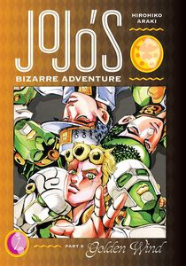 [JoJo's Bizarre Adventure: Part 5: Golden Wind: Volume 1 (Hardcover) (Product Image)]