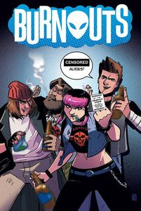[Burnout #1 (CBLDF Charity Variant - Censored) (Product Image)]