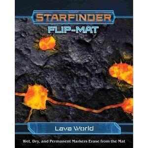[Starfinder: Flip-Mat: Lava World (Product Image)]
