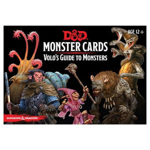 [Dungeons & Dragons: Monster Cards: Volo's Guide To Monsters (Product Image)]