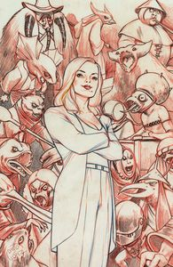 [Buffy The Vampire Slayer #21 (Lopez Variant) (Product Image)]