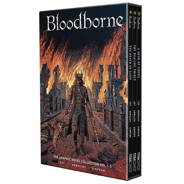 [The cover for Bloodborne: Boxed Set Volume 1]