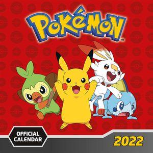 [Pokémon: 2022 Square Calendar (Product Image)]