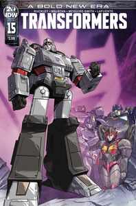 [Transformers #15 (Cover A Lawrence) (Product Image)]
