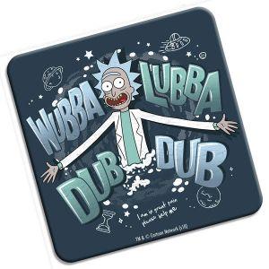 [Rick & Morty: Coaster: Wubba Lubba Dub Dub, Folks! (Product Image)]