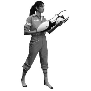 [Portal: Costume: Chell's Jumpsuit (Product Image)]