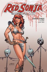 [Red Sonja: Price Of Blood #3 (Cover C Linsner) (Product Image)]