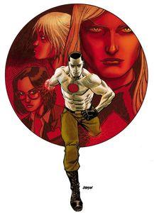 [Bloodshot: Reborn #9 (Cover B Johnson) (Product Image)]