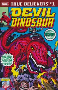 [True Believers: Kirby 100th: Devil Dinosaur #1 (Product Image)]