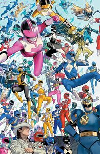 [Power Rangers #1 (Mora Variant) (Product Image)]
