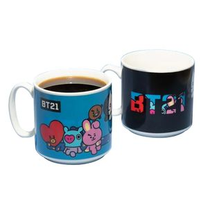 [BT21: Heat Change Mug (Product Image)]
