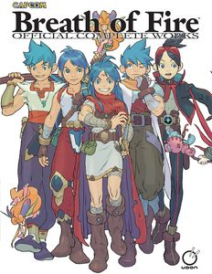 [Breath Of Fire: Official Complete Works (Hardcover) (Product Image)]