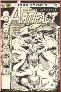 [John Byrnes Marvel Classics: Artifact Edition (Hardcover) (Product Image)]