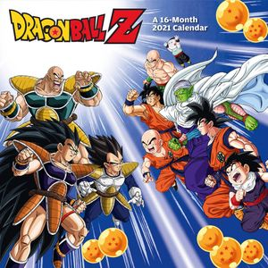[Dragon Ball Z: 2021 Square Calendar (Product Image)]