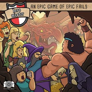 [Hero Master: An Epic Game Of Epic Fails (Product Image)]