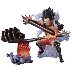 [One Piece: Figuarts Zero Monkey D Luffy Statue: Snakeman King Cobra (Product Image)]