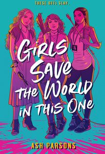 [Girls Save The World In This One (Hardcover) (Product Image)]