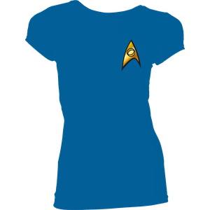[Star Trek: Women's Fit T-Shirt: Science Costume (Product Image)]