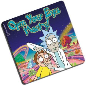 [Rick & Morty: Coaster: Open Your Eyes (Product Image)]