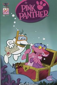 [Pink Panther: Trick Or Pink #1 (Signed Ropp Cover) (Product Image)]