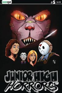 [Junior High Horrors #5 (Cover A Scream Spoof) (Product Image)]